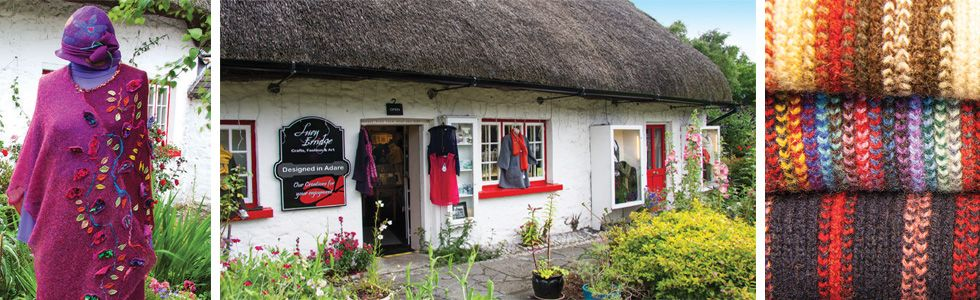 Lucy Erridge in Adare Shop Front