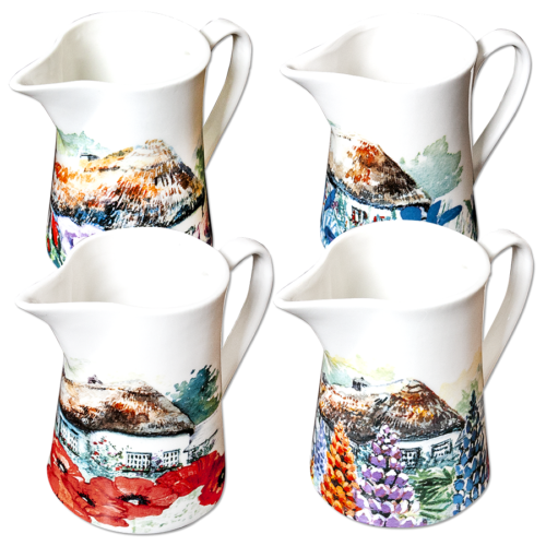 Cottage Garden Milk Jug