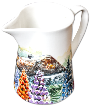 Milk Jug in Noble Lupin design