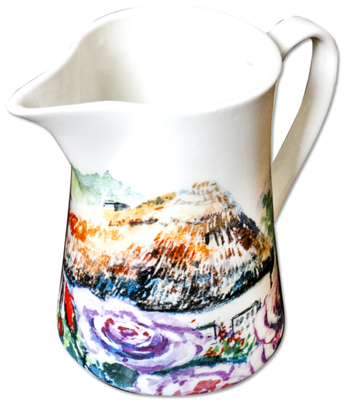 Milk Jug in Rambling Rose design