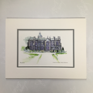Adare Manor Ireland Mounted Print
