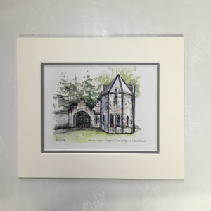 print of Lantern Lodge Adare Manor