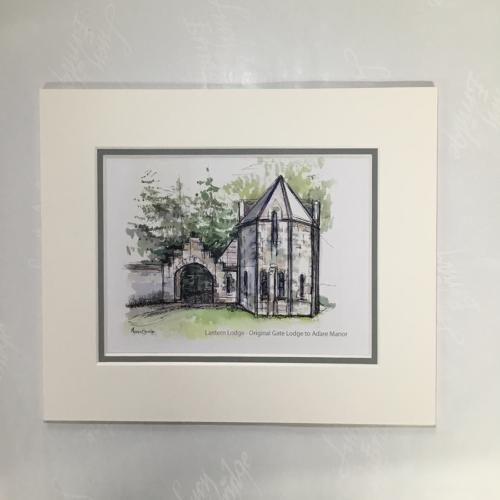 print of Lantern Lodge Adare Manor