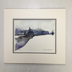 Adare Manor mounted print