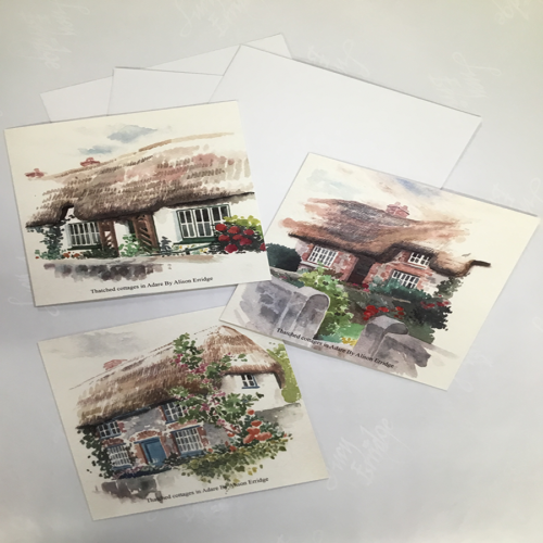 thatched cottage cards Adare