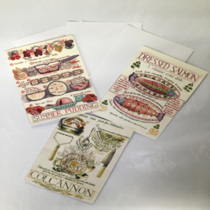 recipe greeting cards