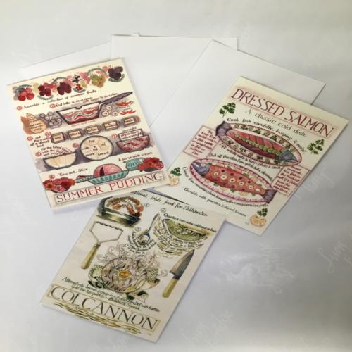 recipe greeting cards